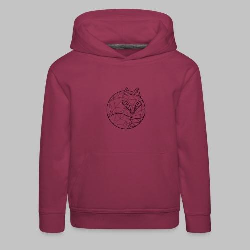 Fox Graph - Kids' Premium Hoodie