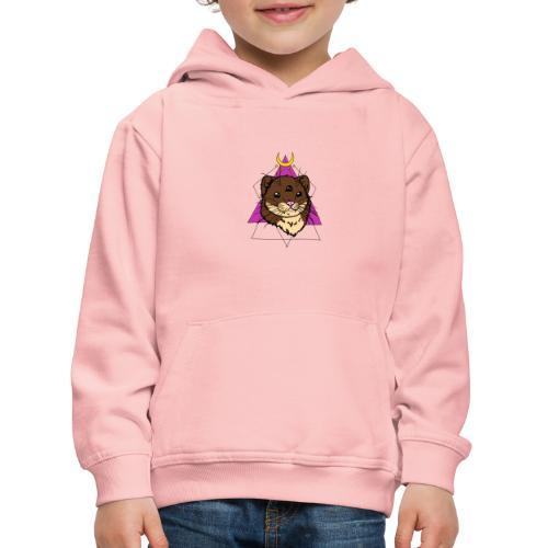 trzecie oko fretki - Bluza dziecięca z kapturem Premium