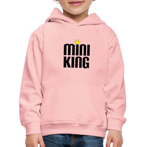 MiniKing Baby Kleinkind Geschenk - Kinder Premium Hoodie