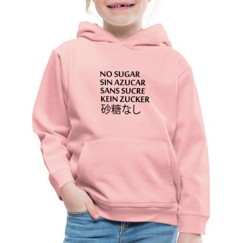 NO SUGAR - Premium-Luvtröja barn