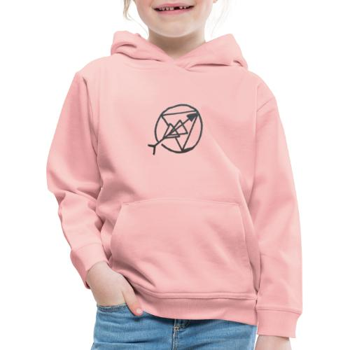 Liebe für die Unentlichkeit - Kinder Premium Hoodie