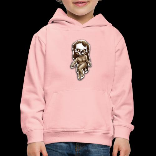 beauty of death - Pull à capuche Premium Enfant