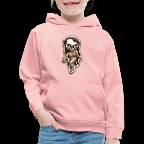 beauty of death - Pull à capuche Premium Enfant