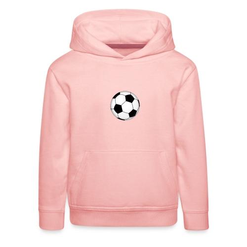 voetbal - Kinderen trui Premium met capuchon