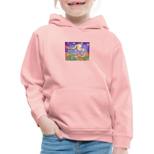 1 - Sudadera con capucha premium niño