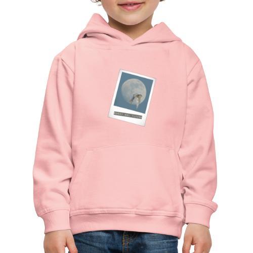 Owl Magical Polaroid Flying Full Moon - Kids' Premium Hoodie
