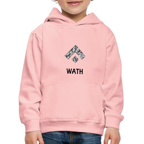 Diseño nombrado - Sudadera con capucha premium niño