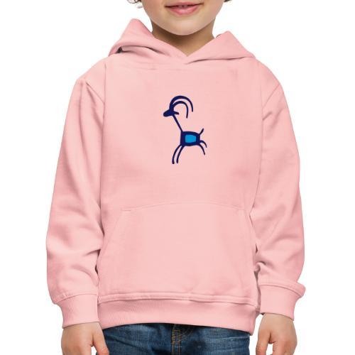 lustige Ziege - Kinder Premium Hoodie