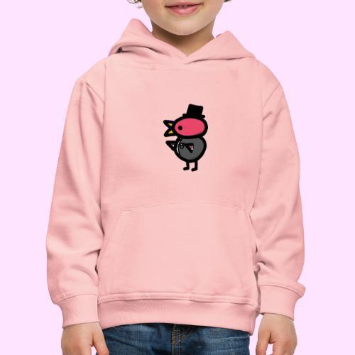 Fancy Pinkguin - Premium hættetrøje til børn