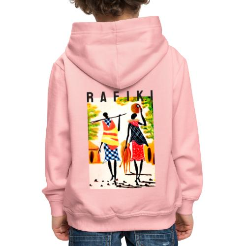 Sct Gemma – Rafiki = Friend - Premium hættetrøje til børn