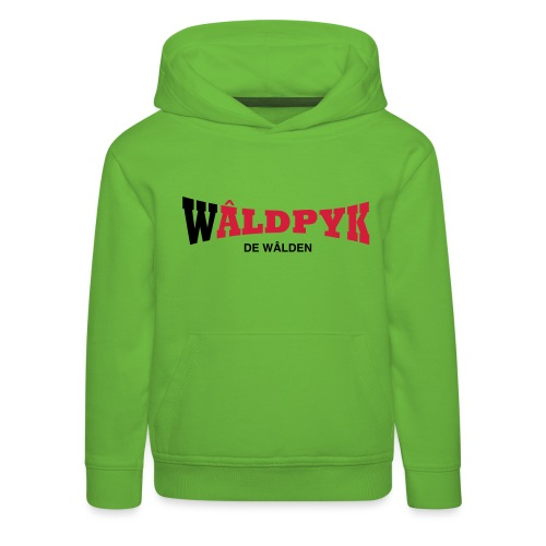 Wâldpyk - Kinderen trui Premium met capuchon