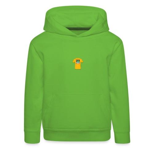 Castle design - Premium hættetrøje til børn