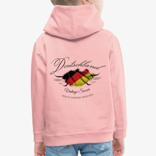 Vintage Deutschland - Kinder Premium Hoodie