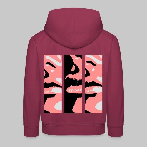 fashion schöne Lippen Mund lips 2reborn - Kinder Premium Hoodie