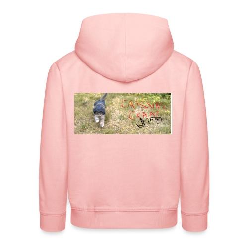 catssin's craat - Bluza dziecięca z kapturem Premium