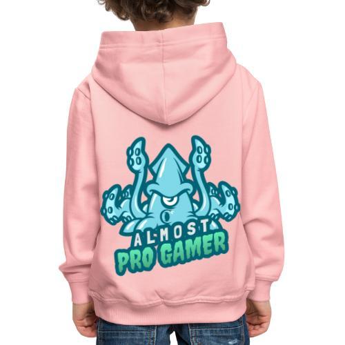 Almost Pro Gamer - Felpa con cappuccio Premium per bambini