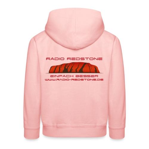 radio redstone logo url png - Kinder Premium Hoodie