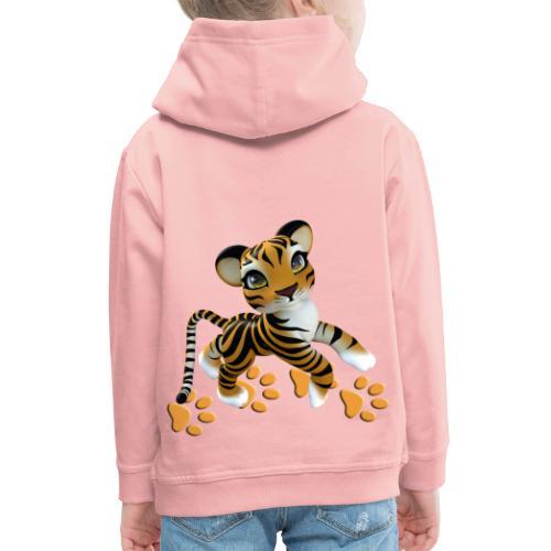 Kleiner Tiger - Kinder Premium Hoodie