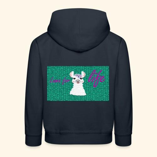 lama / alpaca - Kinder Premium Hoodie