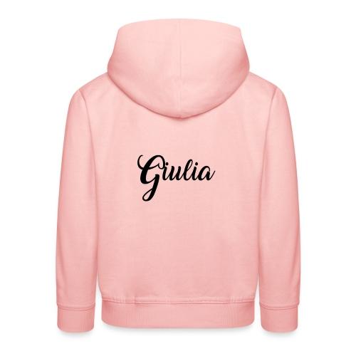 giulia - Felpa con cappuccio Premium per bambini