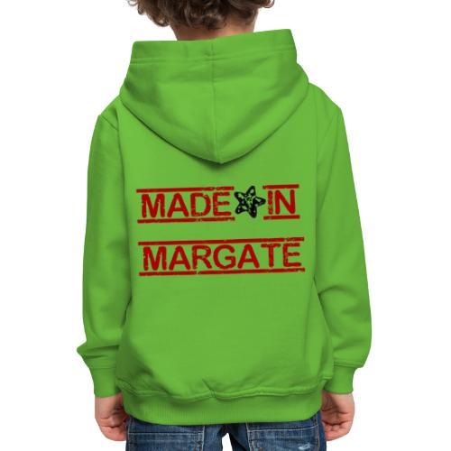 Made in Margate - RED - Kids' Premium Hoodie