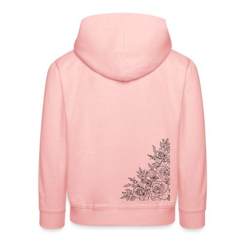 FLORES - Sudadera con capucha premium niño