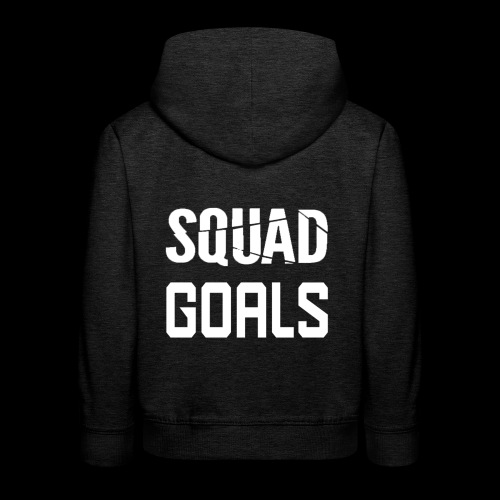 squad goals - Kinderen trui Premium met capuchon