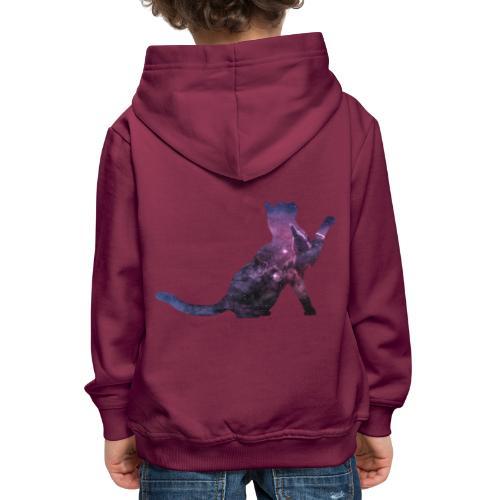 Space Cat - Kinder Premium Hoodie