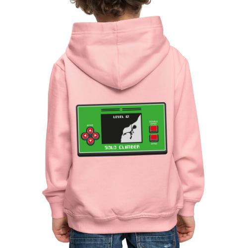 Solo Climber Telespiel - Kinder Premium Hoodie