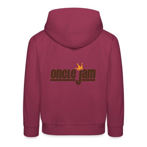 Oncle Jam horizontal brun - Pull à capuche Premium Enfant