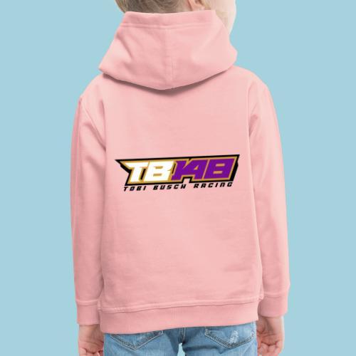 Tobi Logo schwarz - Kinder Premium Hoodie