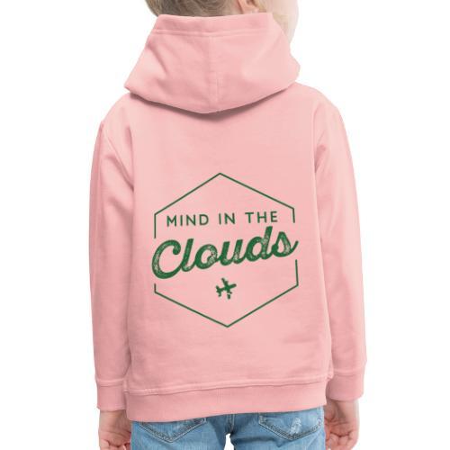 Mit den Gedanken in den Wolken sein - Kinder Premium Hoodie
