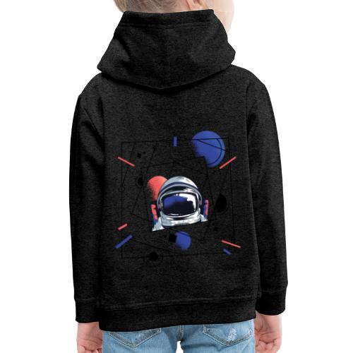 Beste Astronaut Weltraum Designs - Kinder Premium Hoodie
