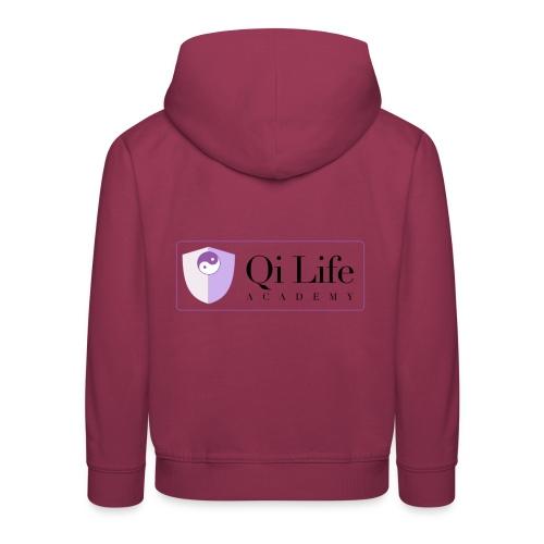 Qi Life Academy Promo Gear - Kids' Premium Hoodie