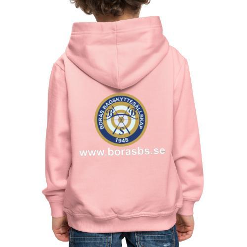 BBS Logo med URL - Premium-Luvtröja barn