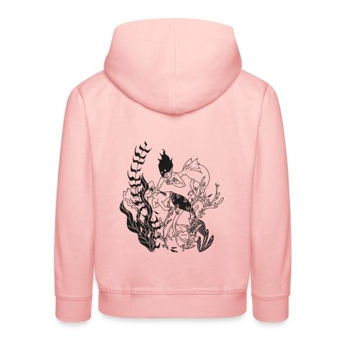 La Sirenita - Sudadera con capucha premium niño