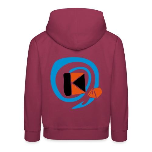 kzllogo fuer tshirts - Kinder Premium Hoodie