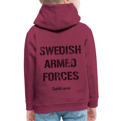 Swedish Armed Forces - Premium-Luvtröja barn