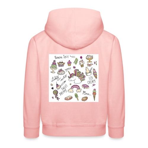 JEDNOROŻCE - Bluza dziecięca z kapturem Premium