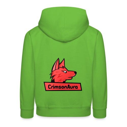 CrimsonAura Logo Merchandise - Kids' Premium Hoodie