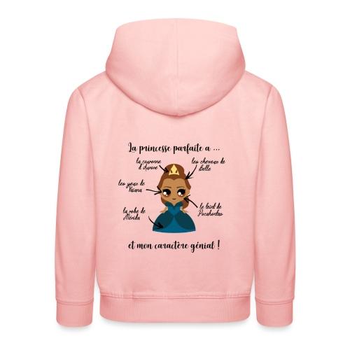 Princesse parfaite - Pull à capuche Premium Enfant