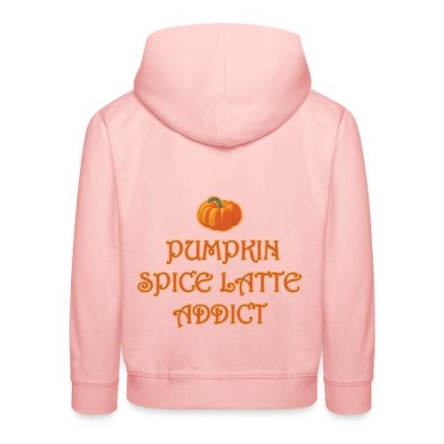 PumpkinSpiceAddict - Felpa con cappuccio Premium per bambini