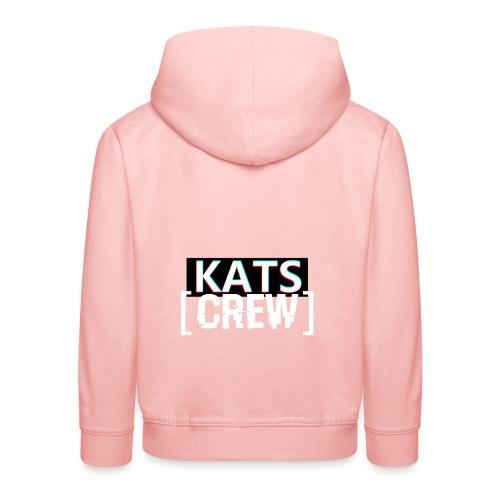 KATS CREW Logo - Bluza dziecięca z kapturem Premium