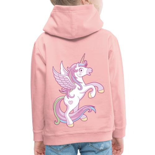 Magic Unicorn - Felpa con cappuccio Premium per bambini