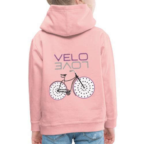 Pitaya Bike Shirt Velo Love Shirt Radfahrer Shirt - Kinder Premium Hoodie