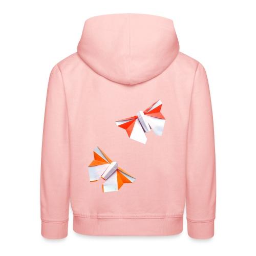 Butterflies Origami - Butterflies - Mariposas - Kids' Premium Hoodie