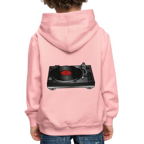 Plattenspieler VINYL - Kinder Premium Hoodie
