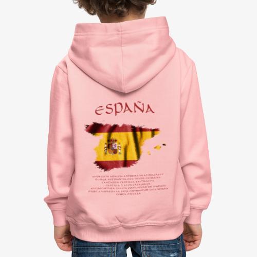 Spain Flag Bandera España - Kinder Premium Hoodie