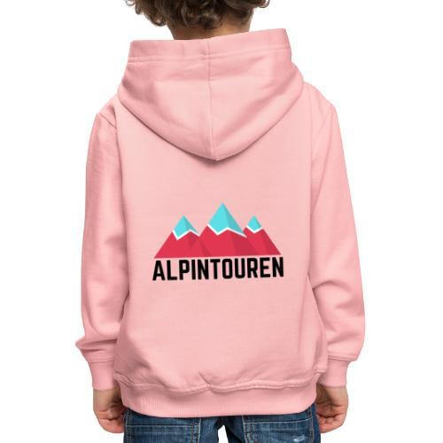 Alpintouren - Kinder Premium Hoodie