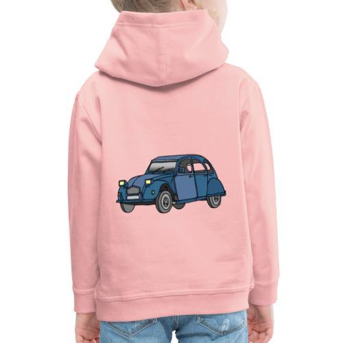 Blaue Ente 2CV - Kinder Premium Hoodie